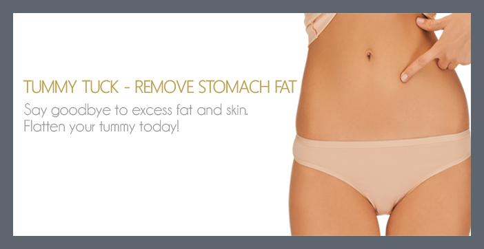 REMOVE STOMACH FAT