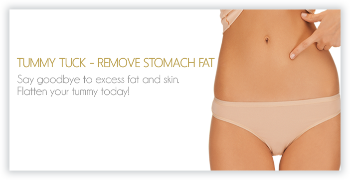 REMOVE STOMACH FAT