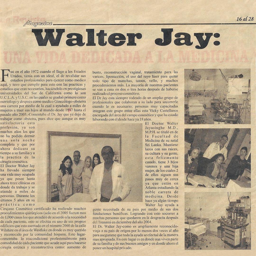 Dr.Jayasinghe Article